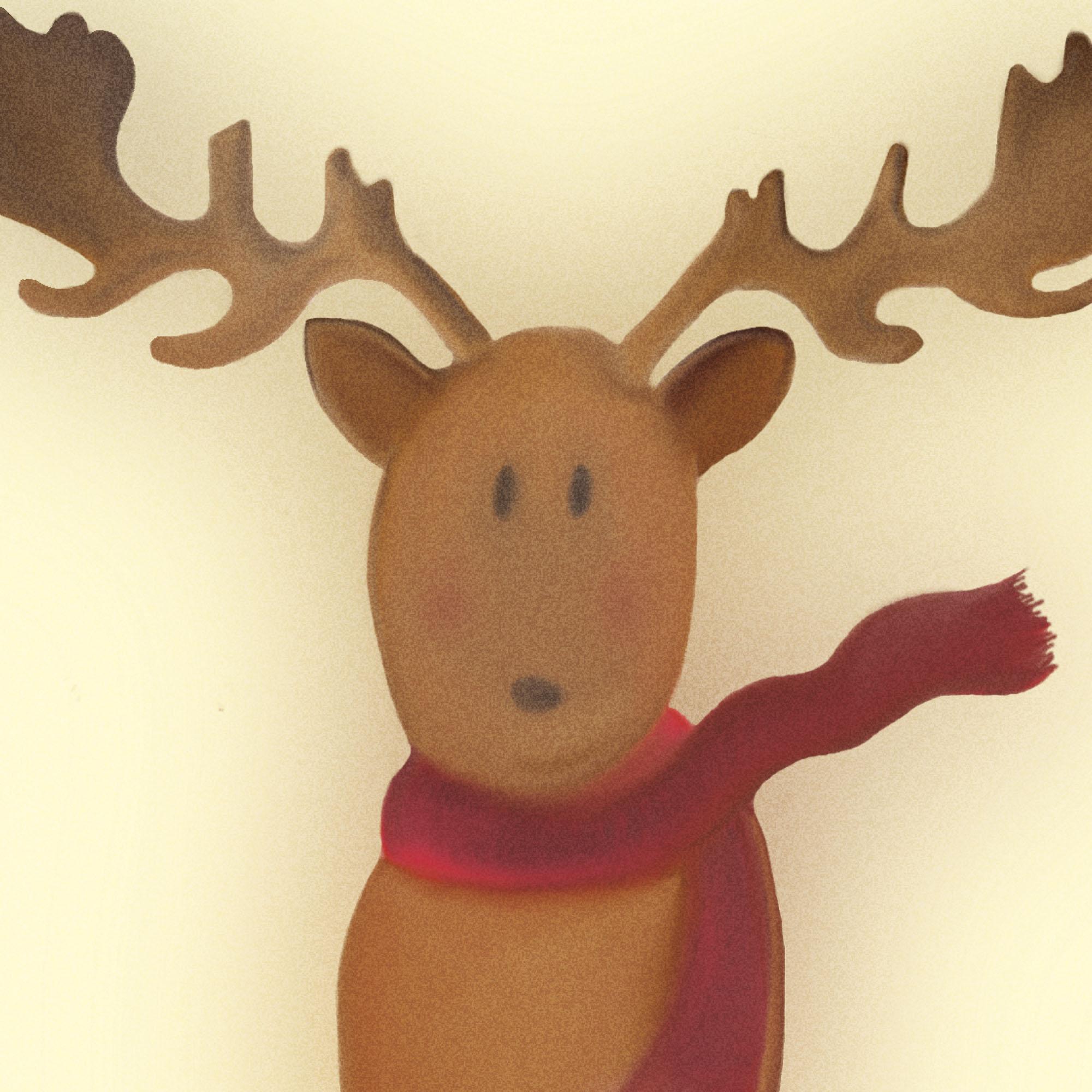 Le renne du Père Noël