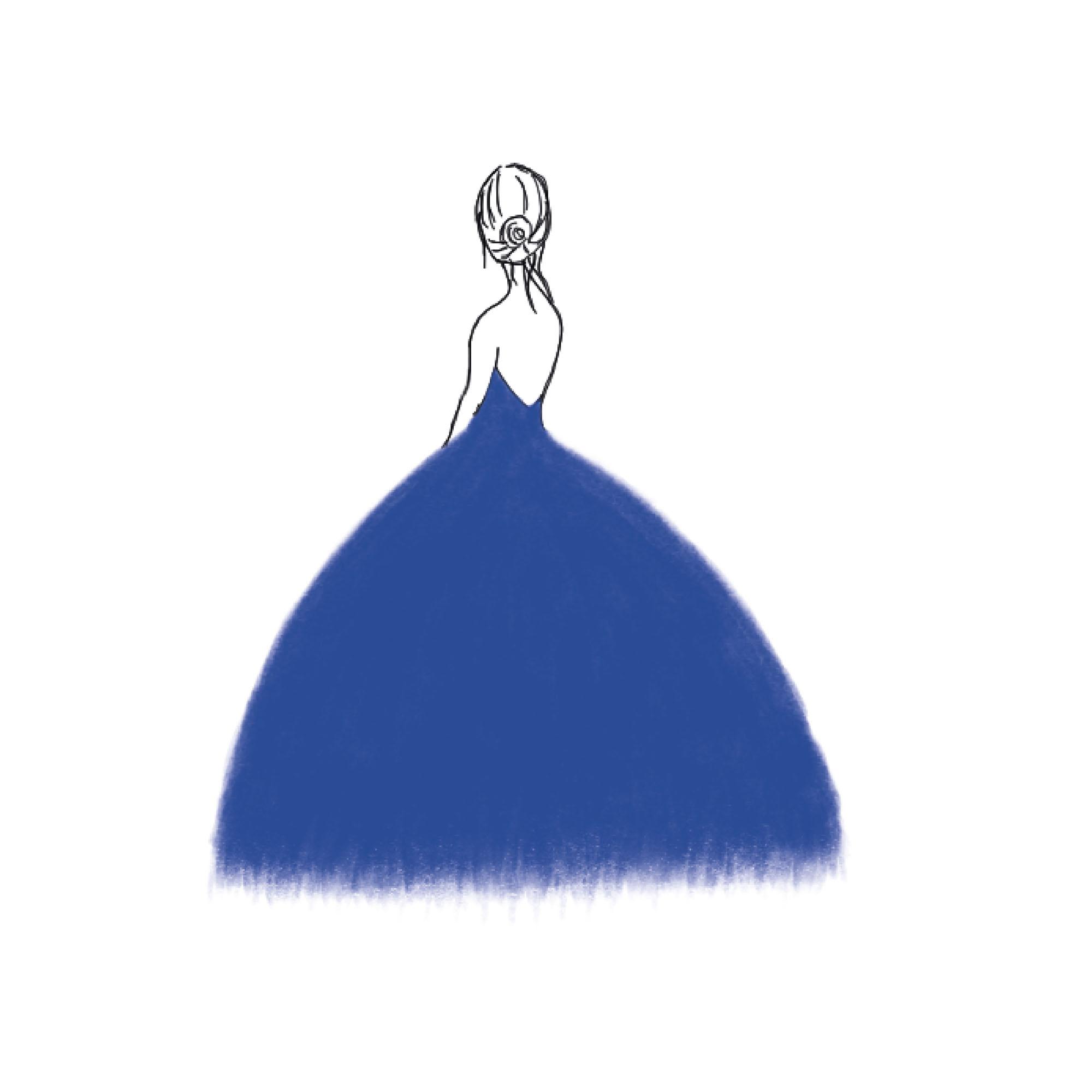 Première robe de bal